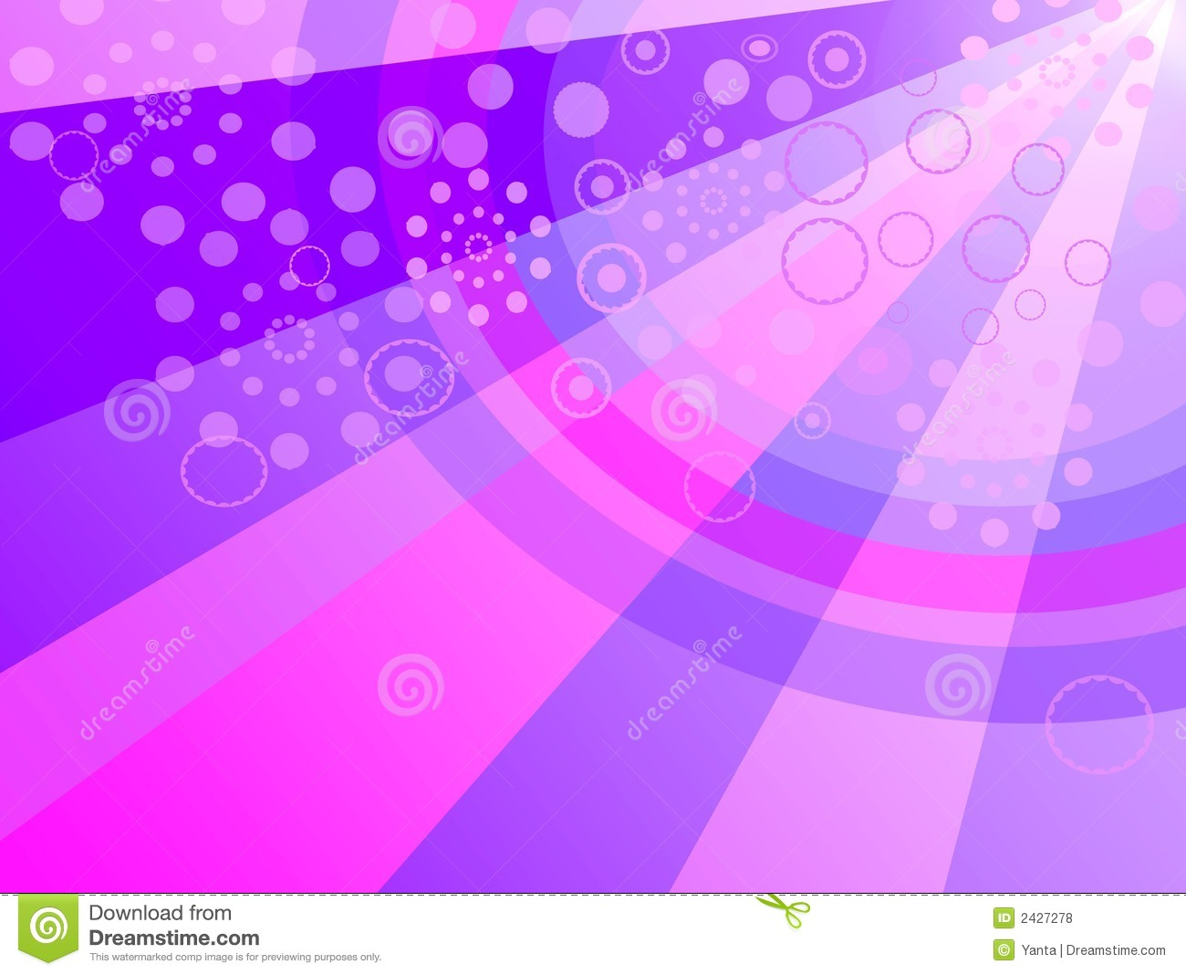 Colorful Party Background Stock Illustration Image Of Ring
