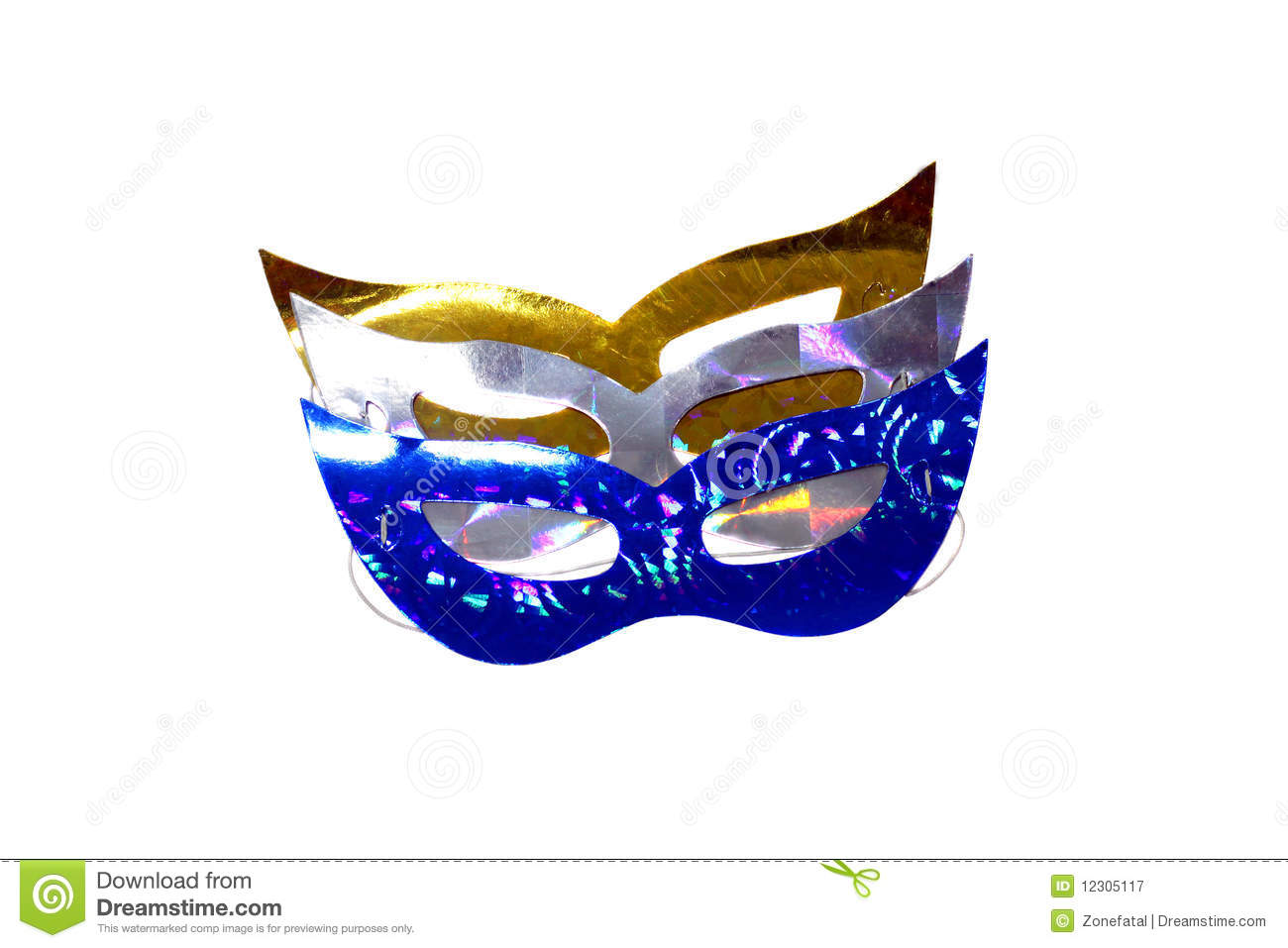 Colorful Party Masks Royalty Free Stock Photography ...