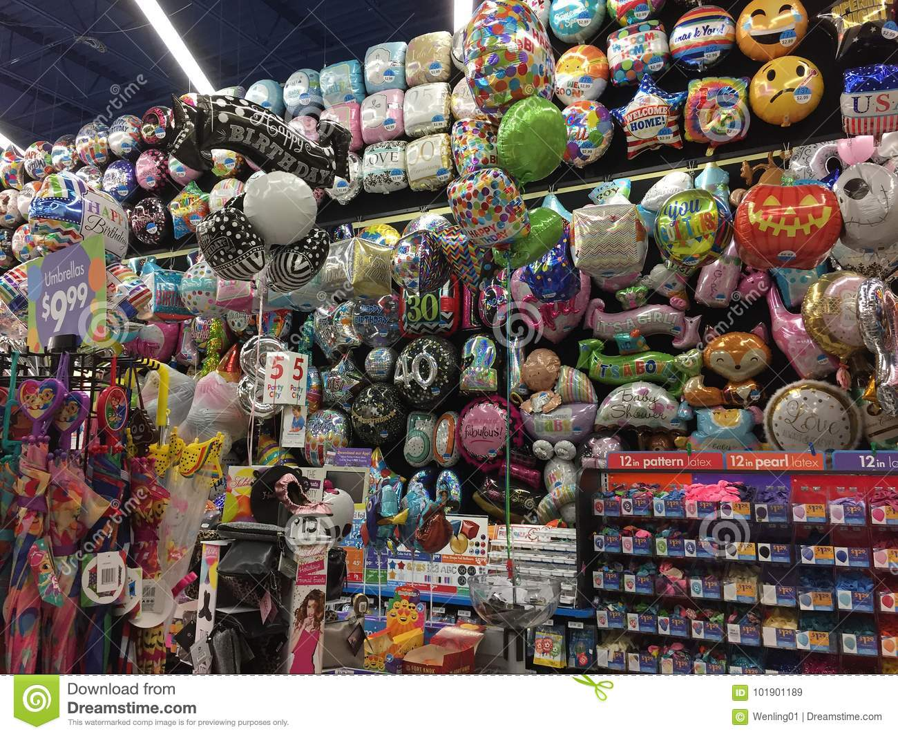 Product produce balloons