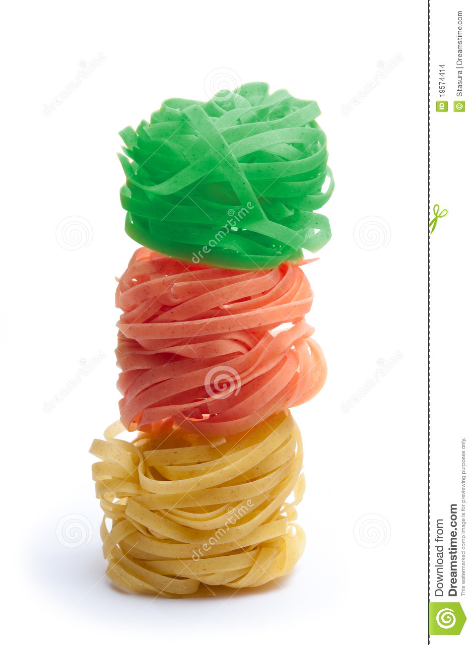 how to colour pasta to eat