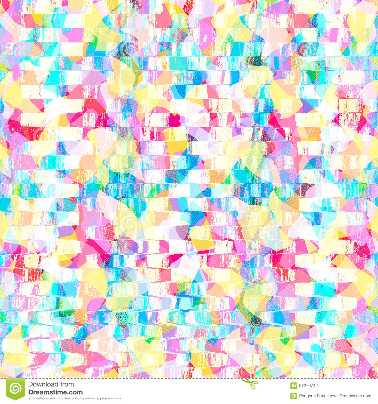 Colorful Pastel Color Pattern Abstract Wallpaper Design Background