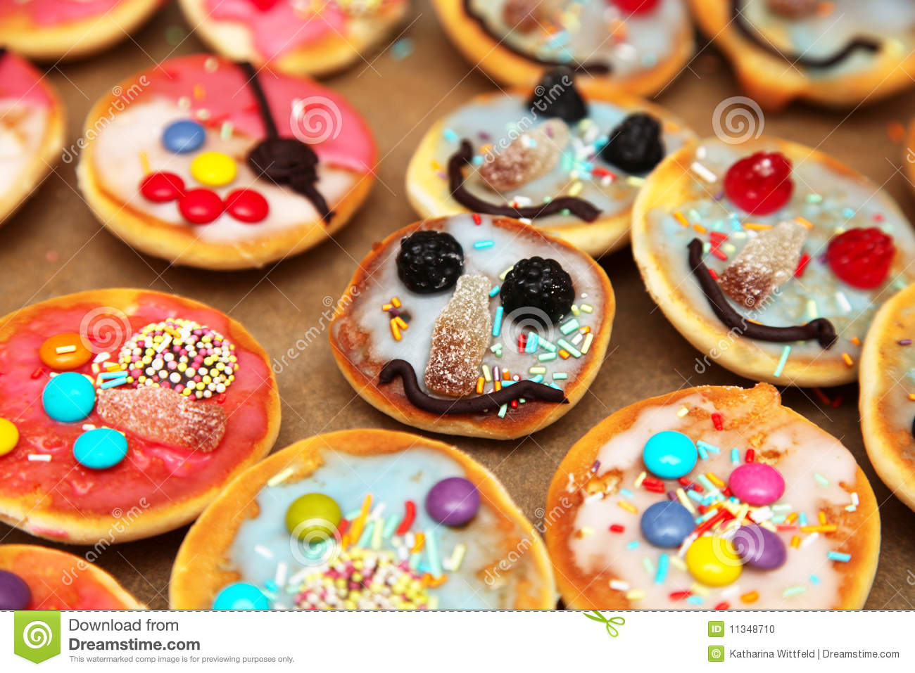 Colorful Pastry For Kids Stock Photo Image Of Jellybaby