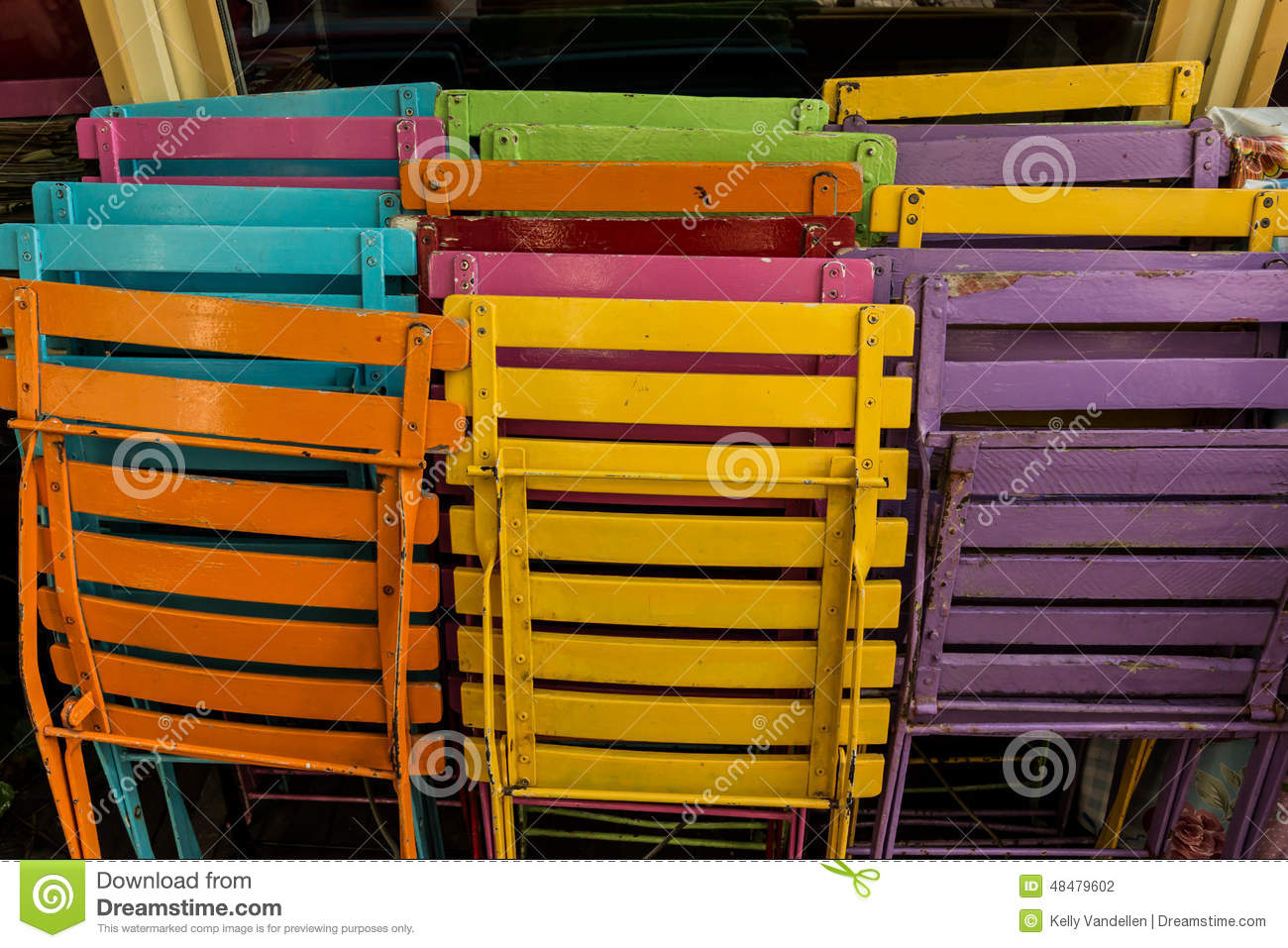 Colorful Patio Chairs