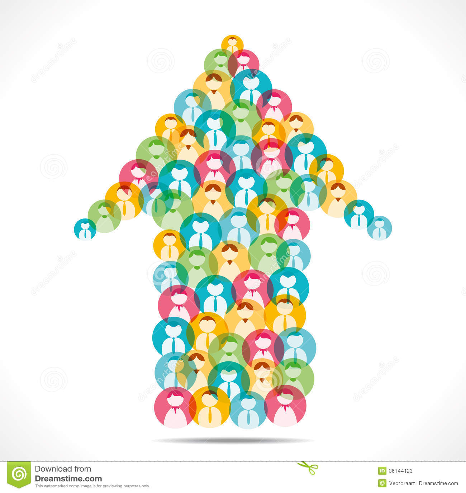 colorful people icon design arrow stock photos image