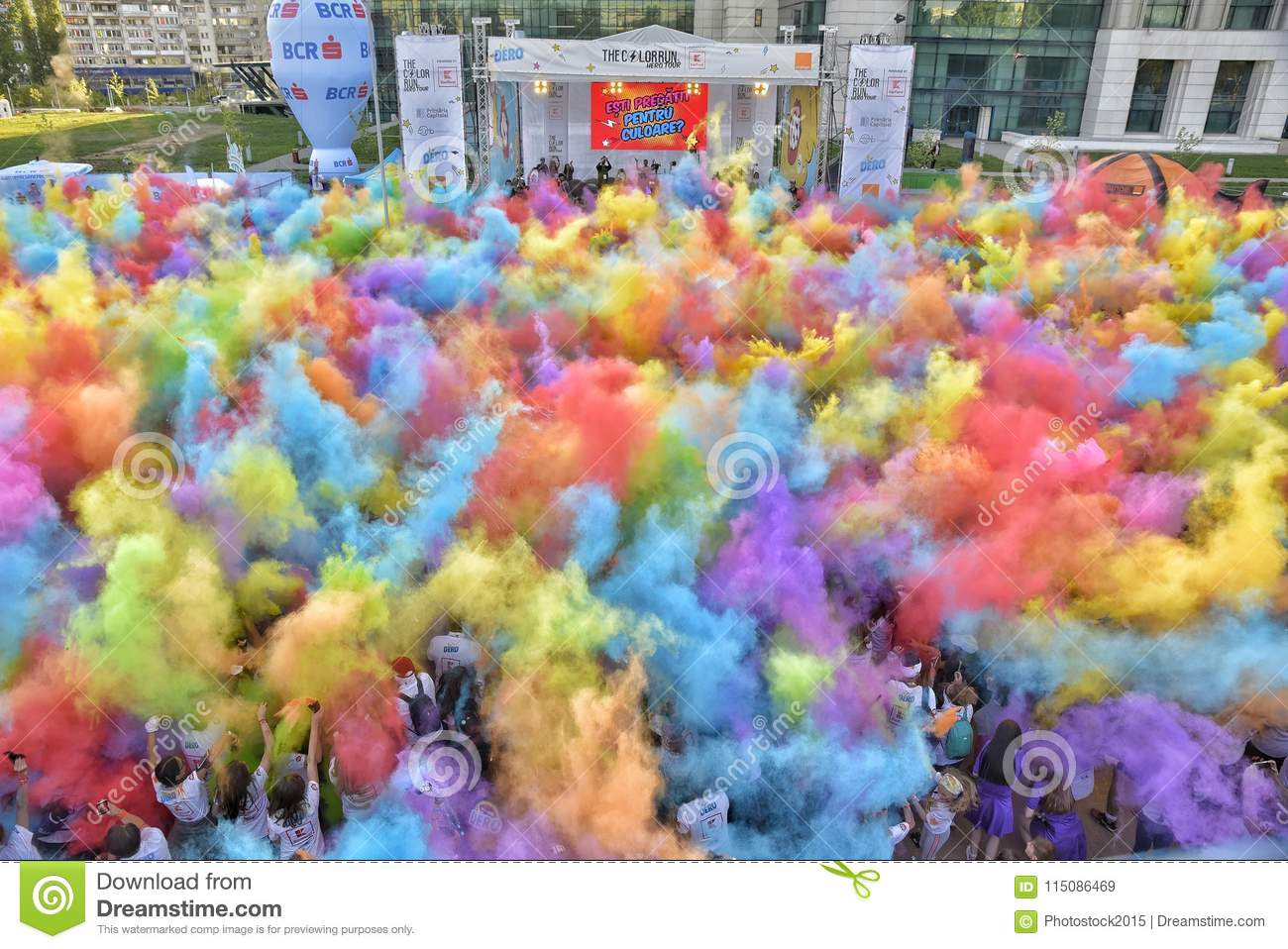 The Color Run Hero Tour Bucharest