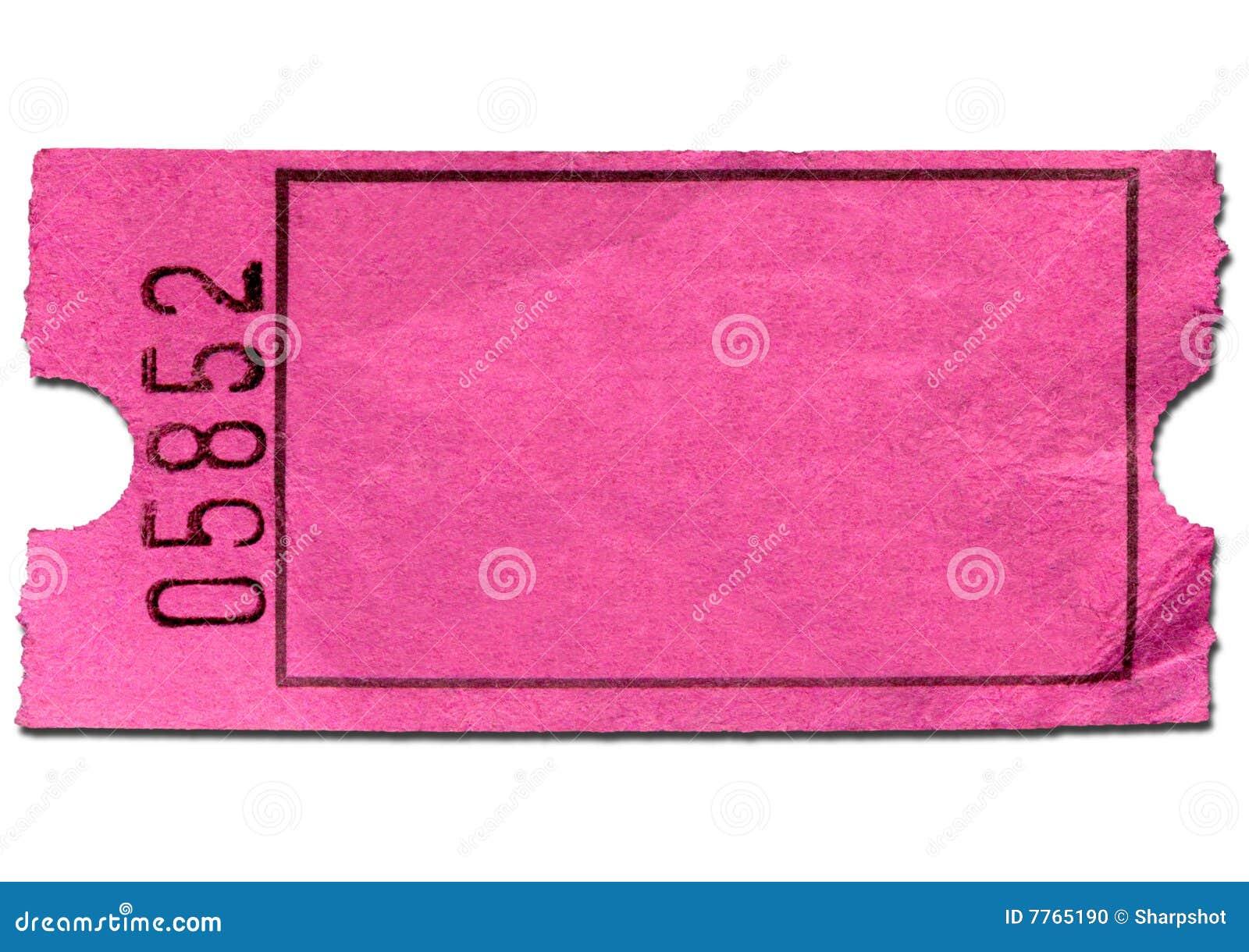 blank ticket template clip art .