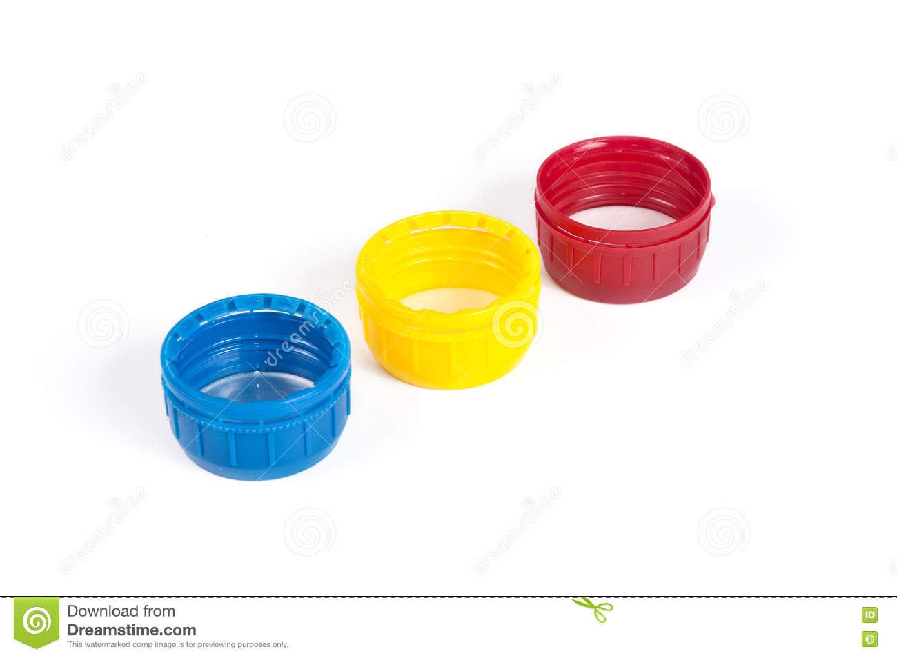 Colorful Plastic Bottle Caps Stock Image - Image of frame, clean ...