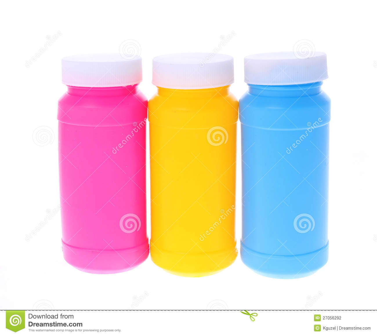 Colorful plastic bottles stock photography image 27056292 for How to make a bubble blower from a water bottle