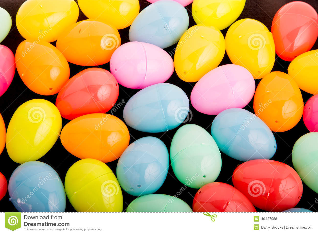 plastic easter eggs royalty free stock image 13136314. Black Bedroom Furniture Sets. Home Design Ideas