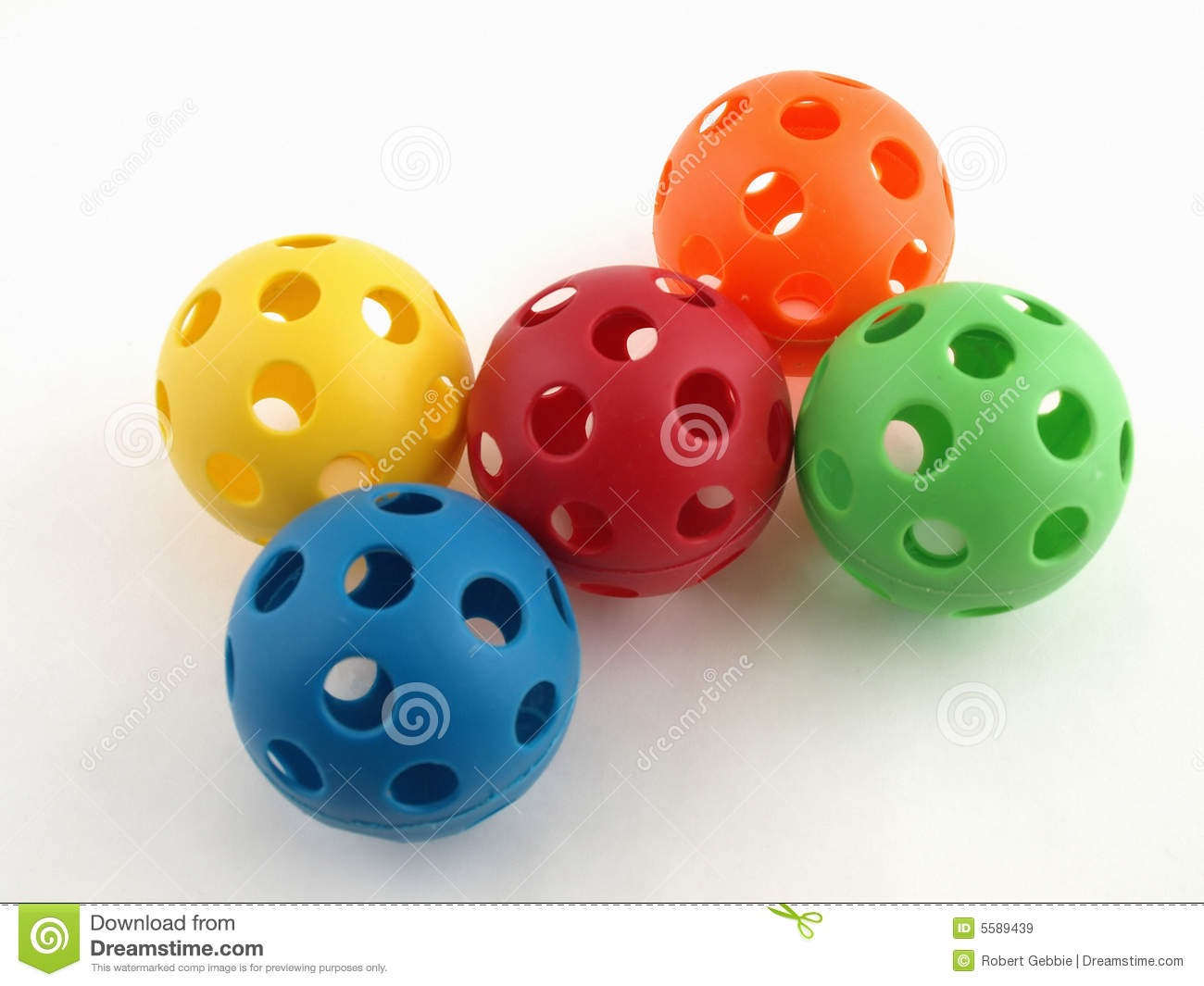 Plastic Toy Balls : Colorful plastic toy balls royalty free stock images