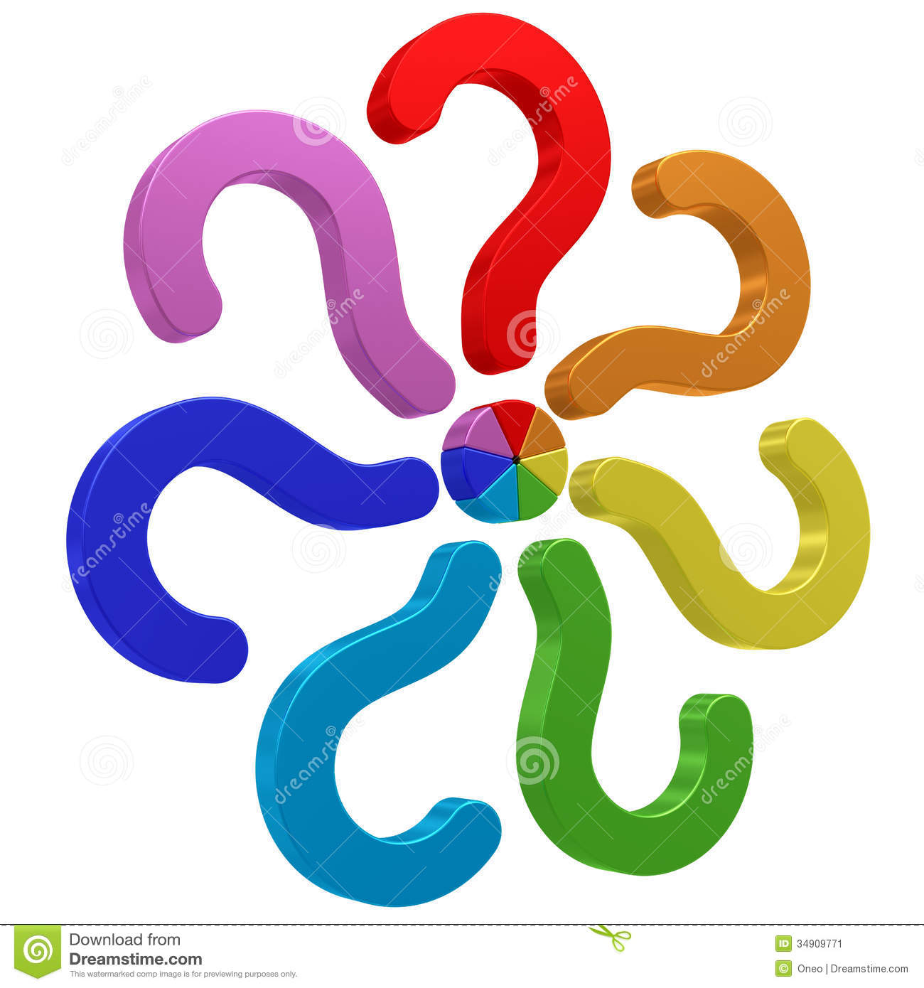 Question Mark Clip Art Png Colorful questi...