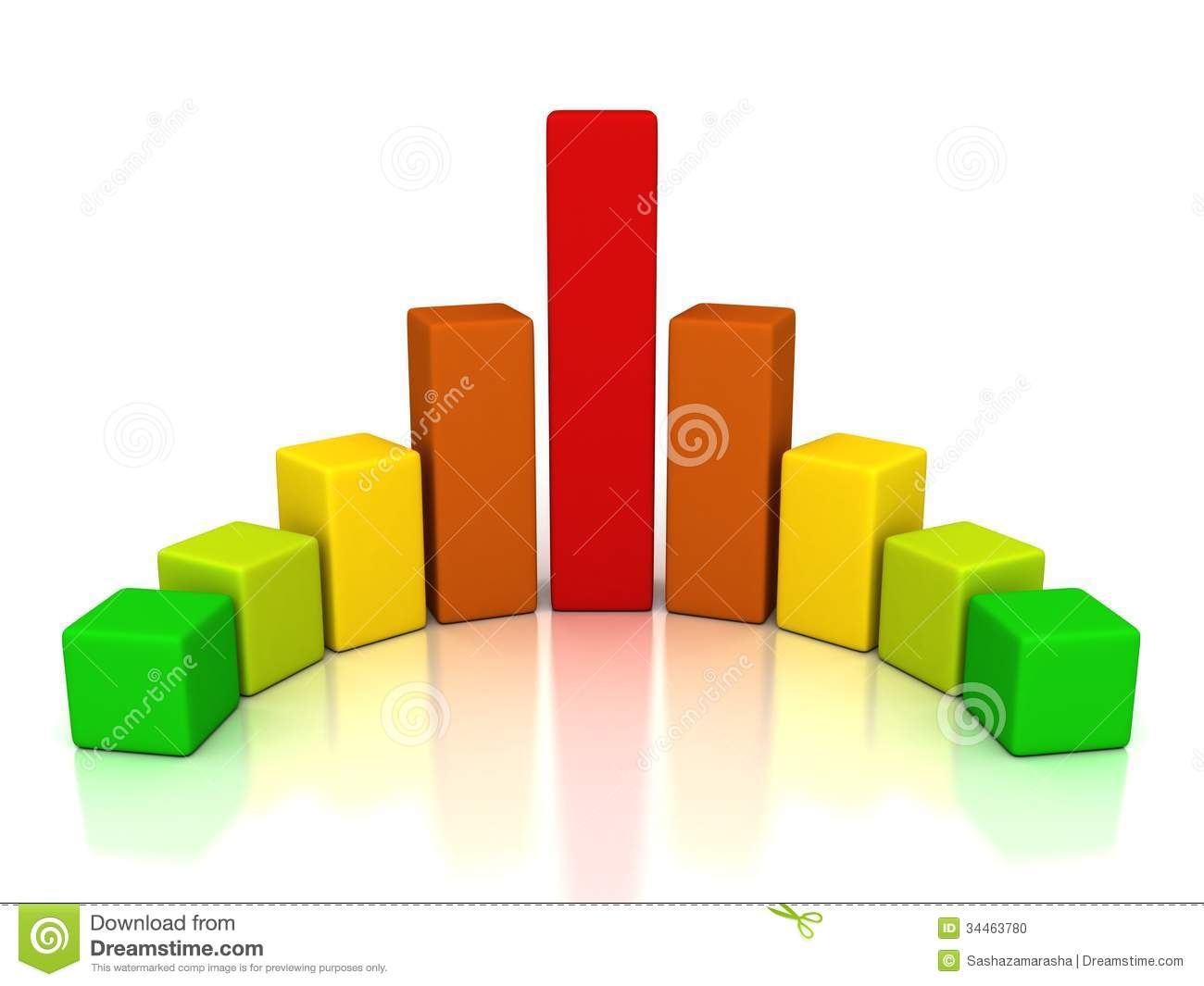 colorful rainbow finance successful bar chart diagram stock photo    colorful rainbow finance successful bar chart diagram