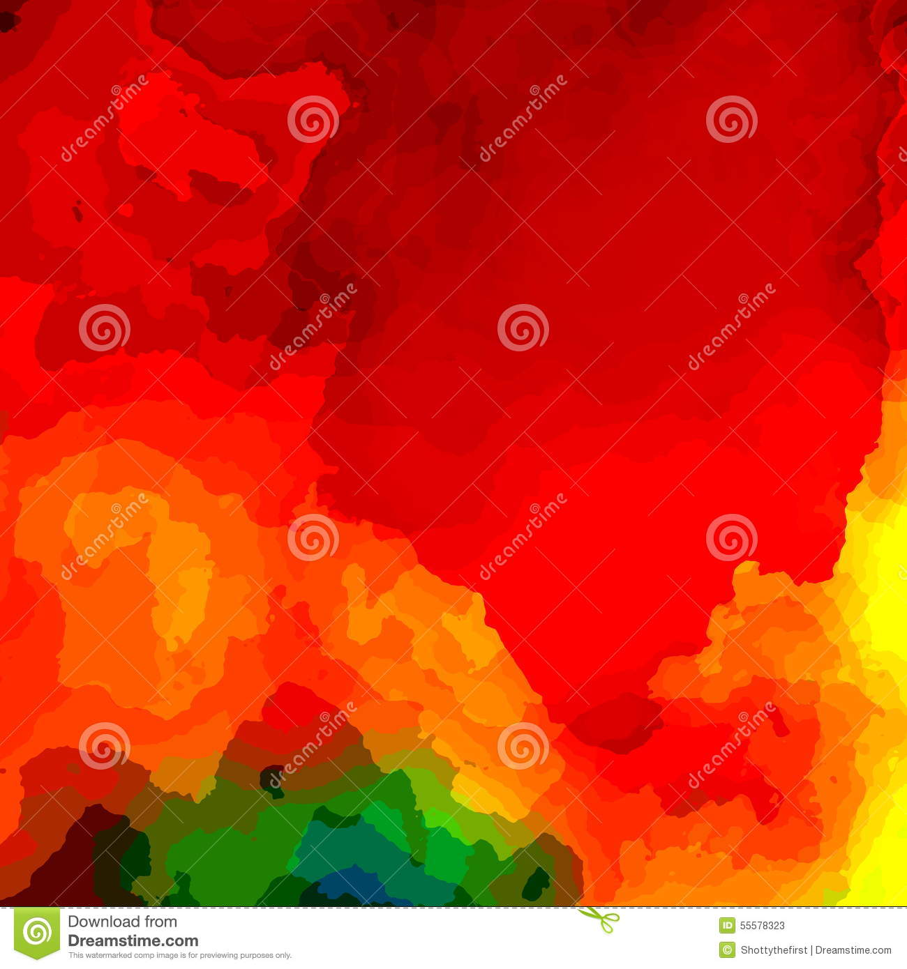 Colorful red paint background illustration computer monitor royalty free illustration magicingreecefo Gallery