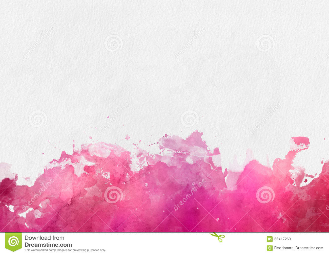 Colorful red watercolor paint template stock illustration for Watercolor painting templates free