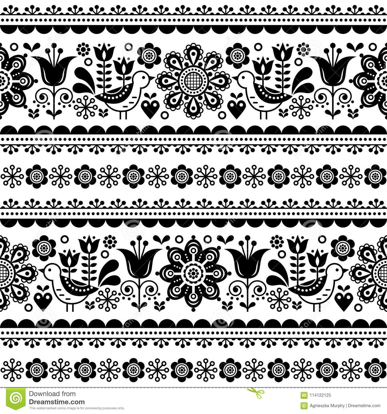 Indian Trucks Art Seamless Pattern Pakistani Colorful Truck Floral Design With Lotus Flower Leaves And Abstract Shapes Stock Illustration Illustration Of Abstract Ornament 114122125