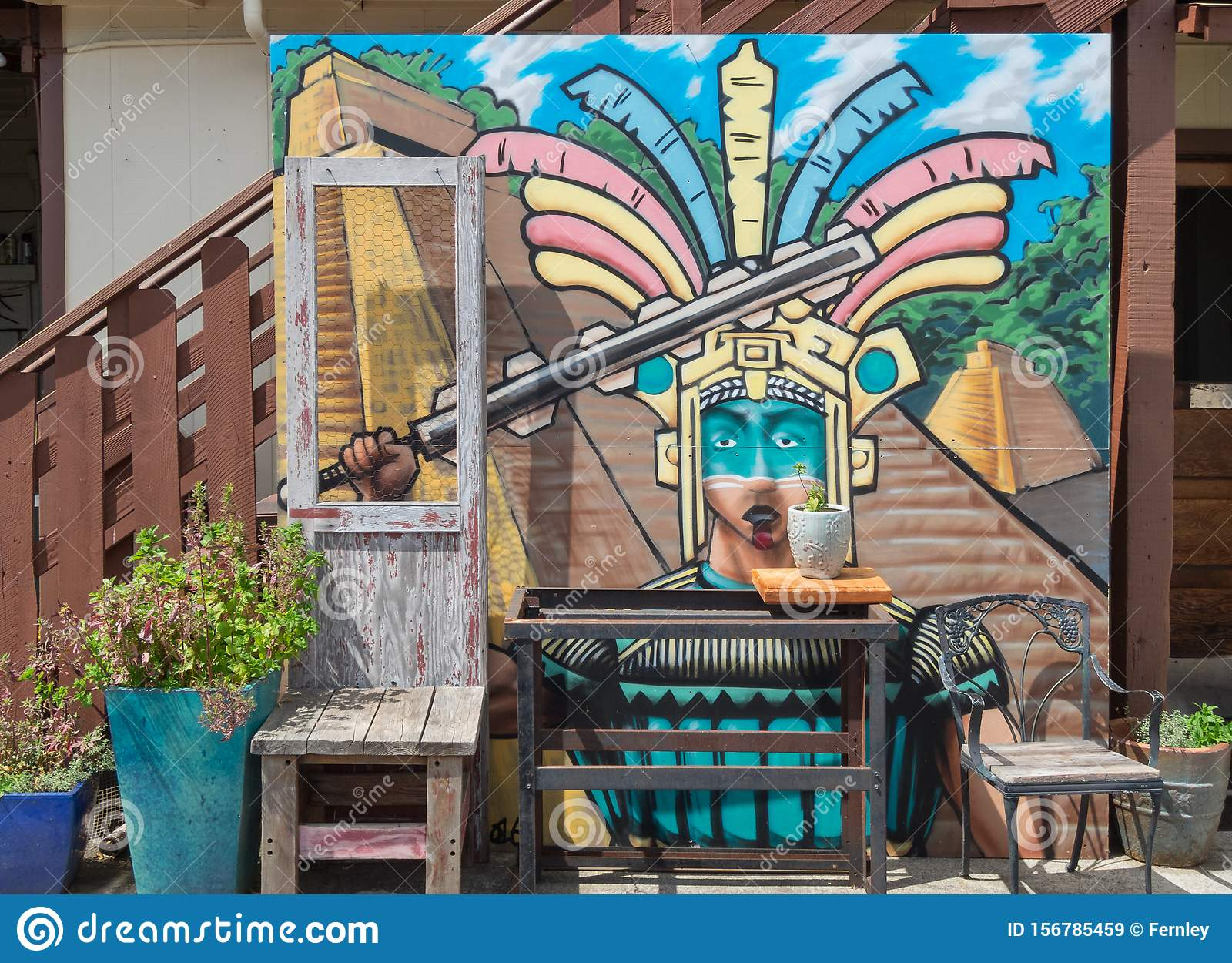 Colorful Restaurant Exterior Editorial Stock Image Image Of Brick Lifestyle 156785459