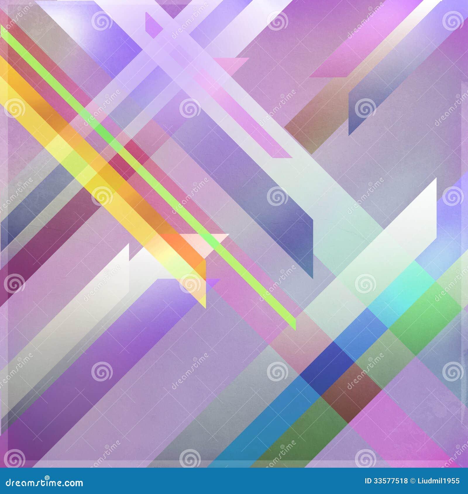 colorful retro futuristic poster stock illustration