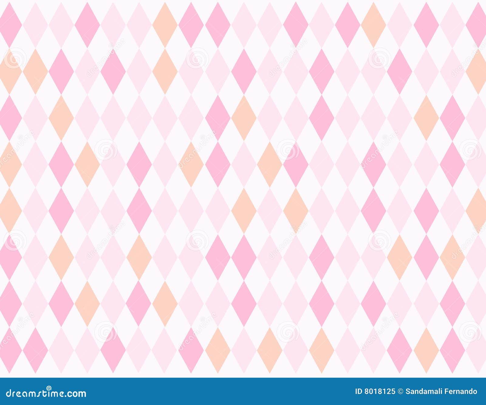 Colorful Rhombus Background Stock Illustration