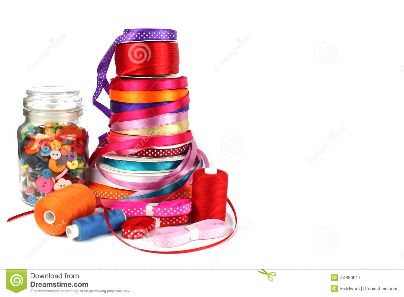 https://thumbs.dreamstime.com/z/colorful-ribbons-sewing-craft-haberdashery-items-white-background-copy-space-44880917.jpg