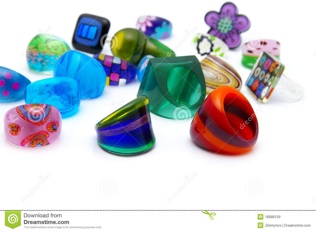 toy plastic color stock photo on and wooden rings table different pyramid size of