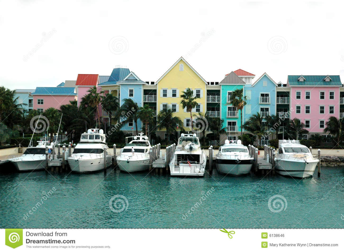 Download Colorful Row Of Houses And Boats Stock Photo - Image of homes, home: 6138646