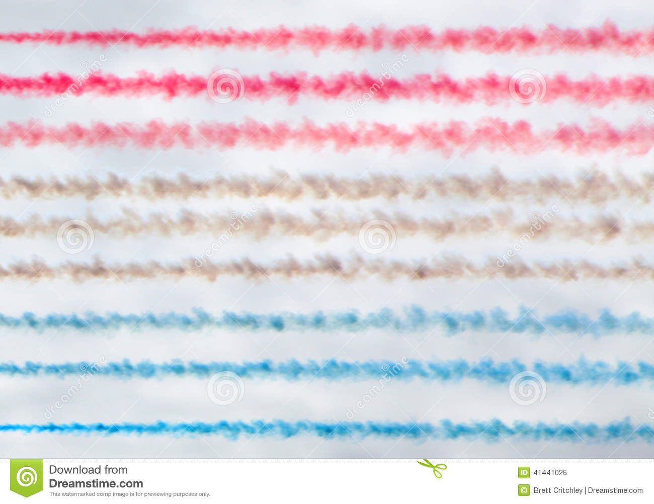 Colorful smoke trails background