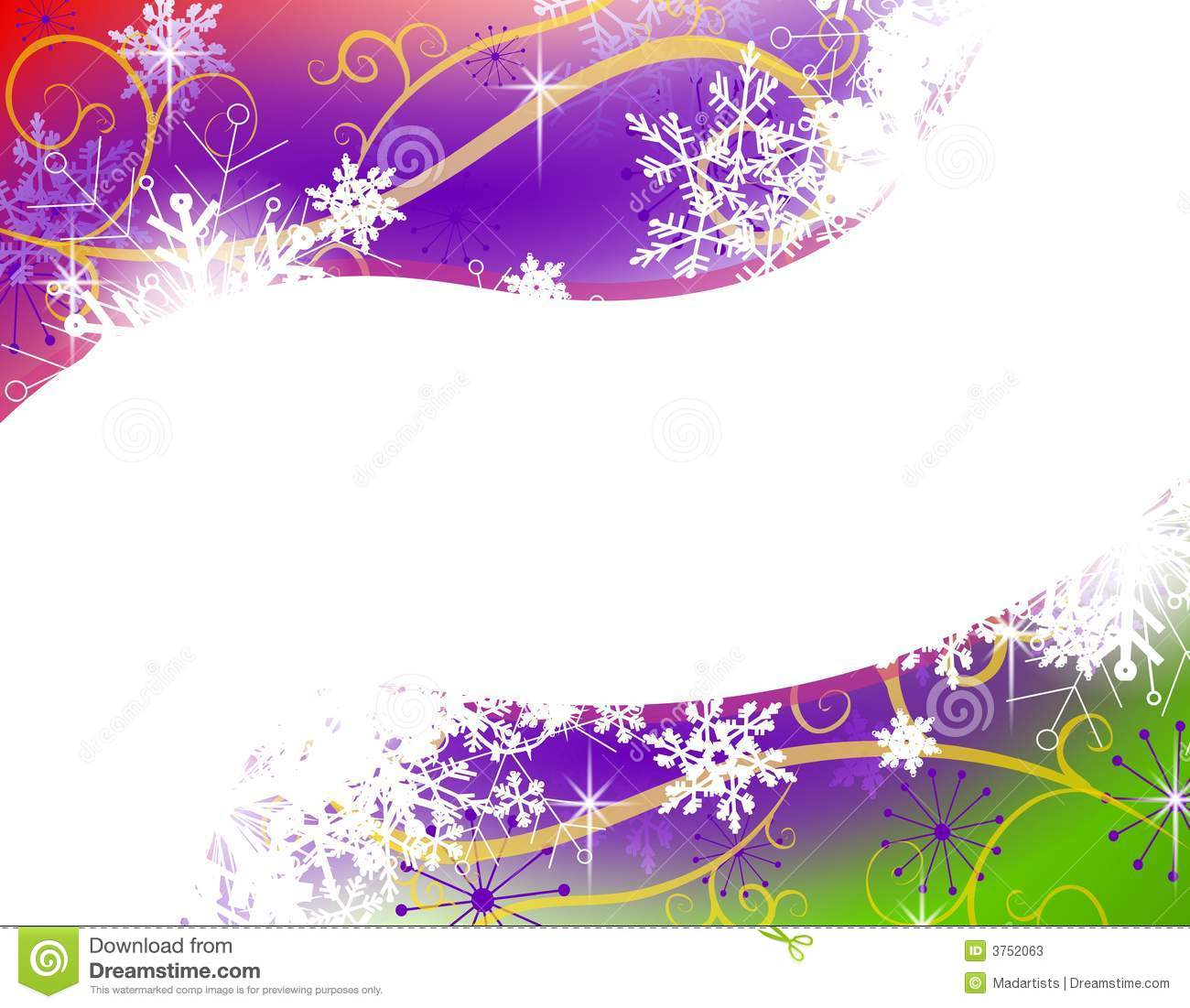 background illustration featuring a gradient purple, red and green ...