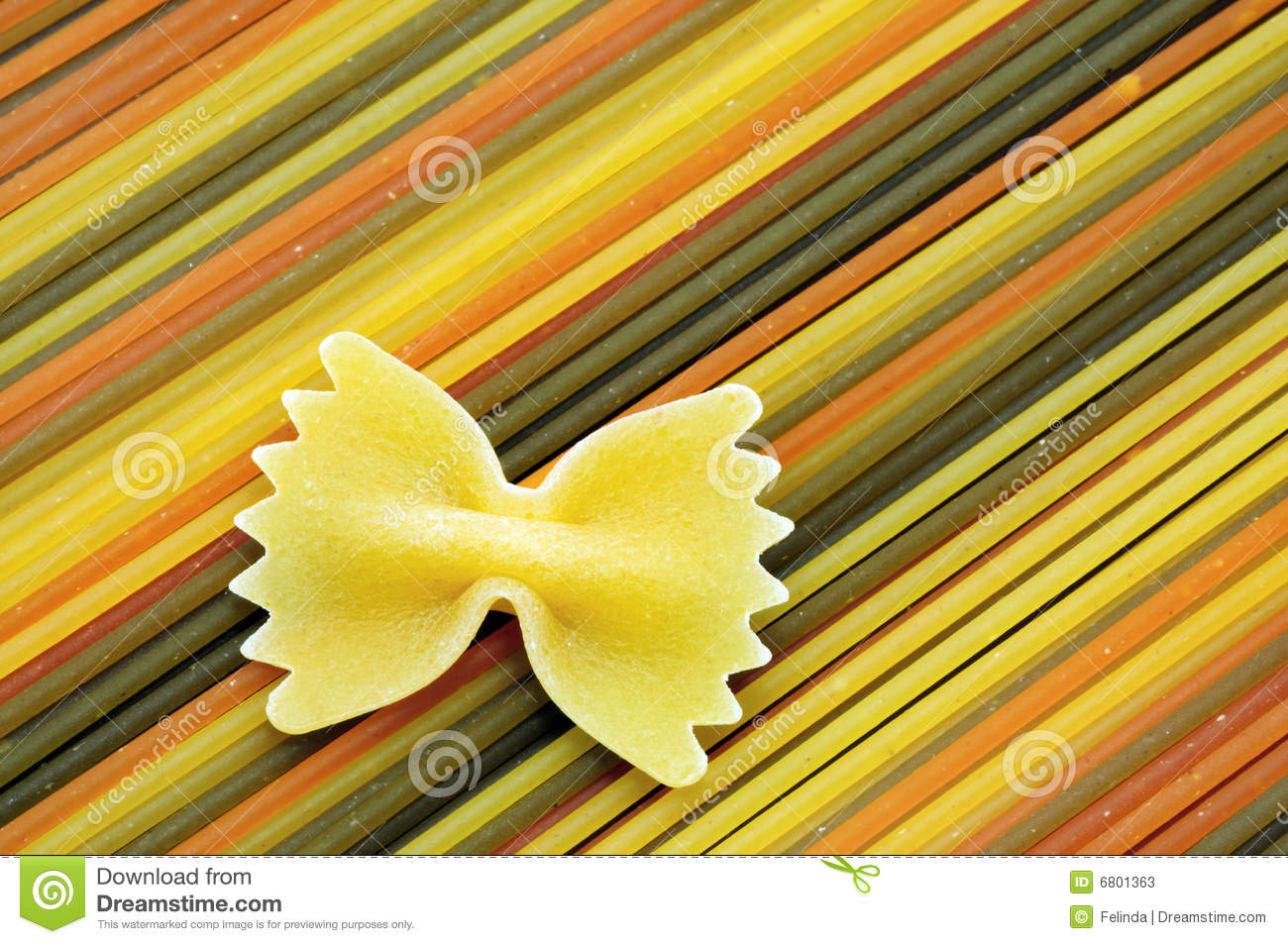 Download Colorful spaghetti stock image. Image of isolated, color - 6801363