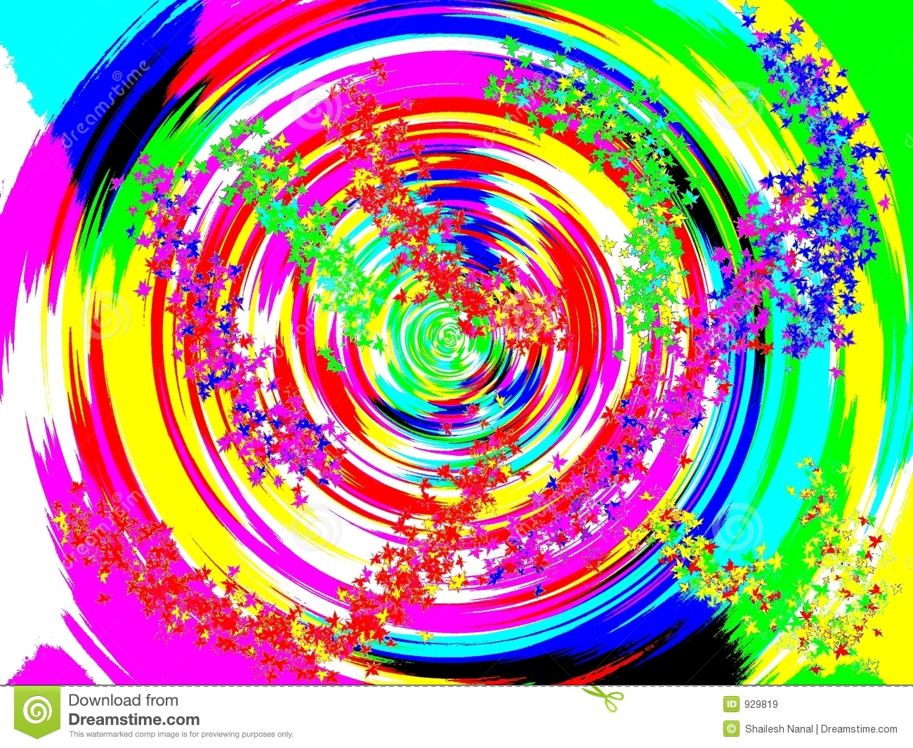 colorful spin royalty free stock images image 929819