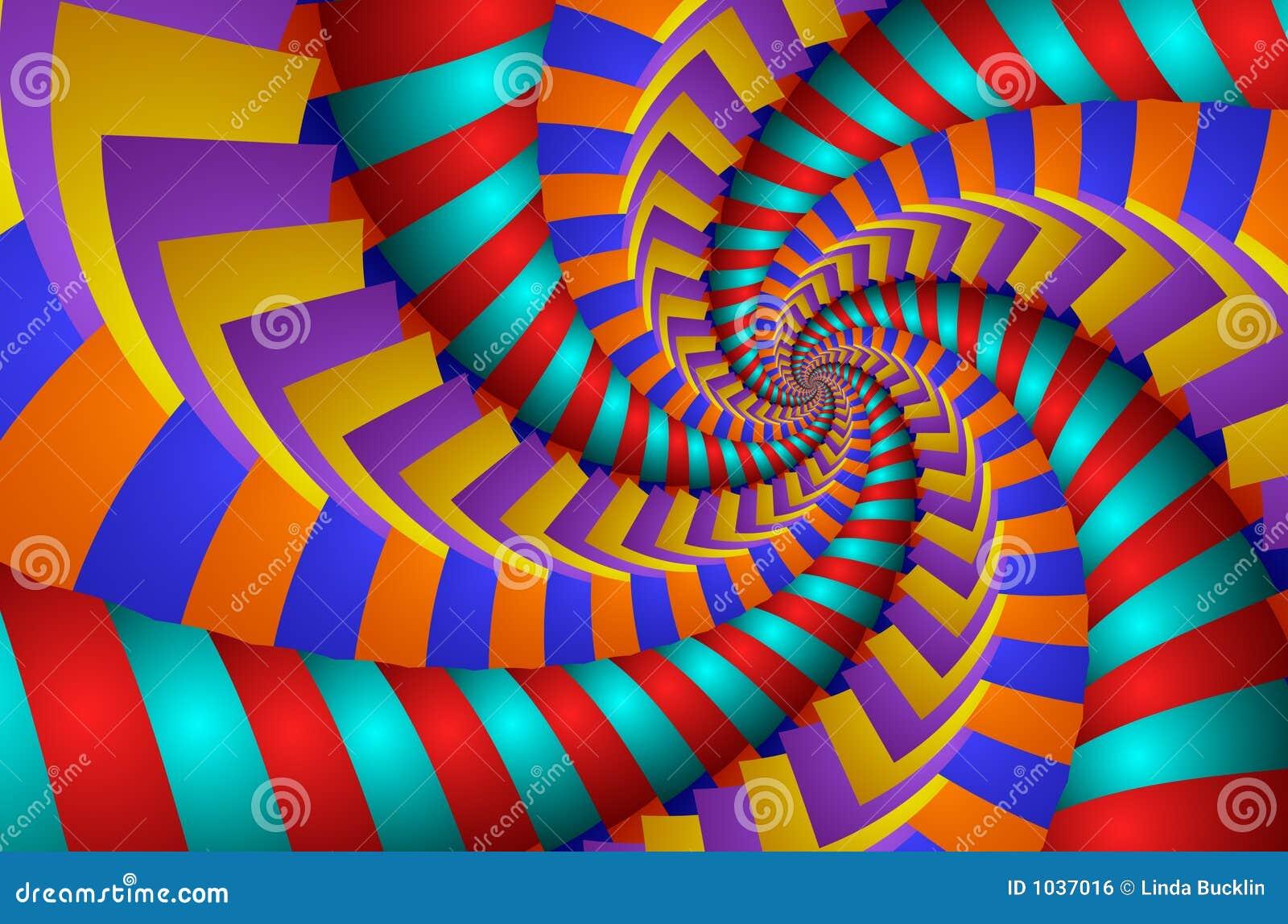 Colorful Spin - fractal image