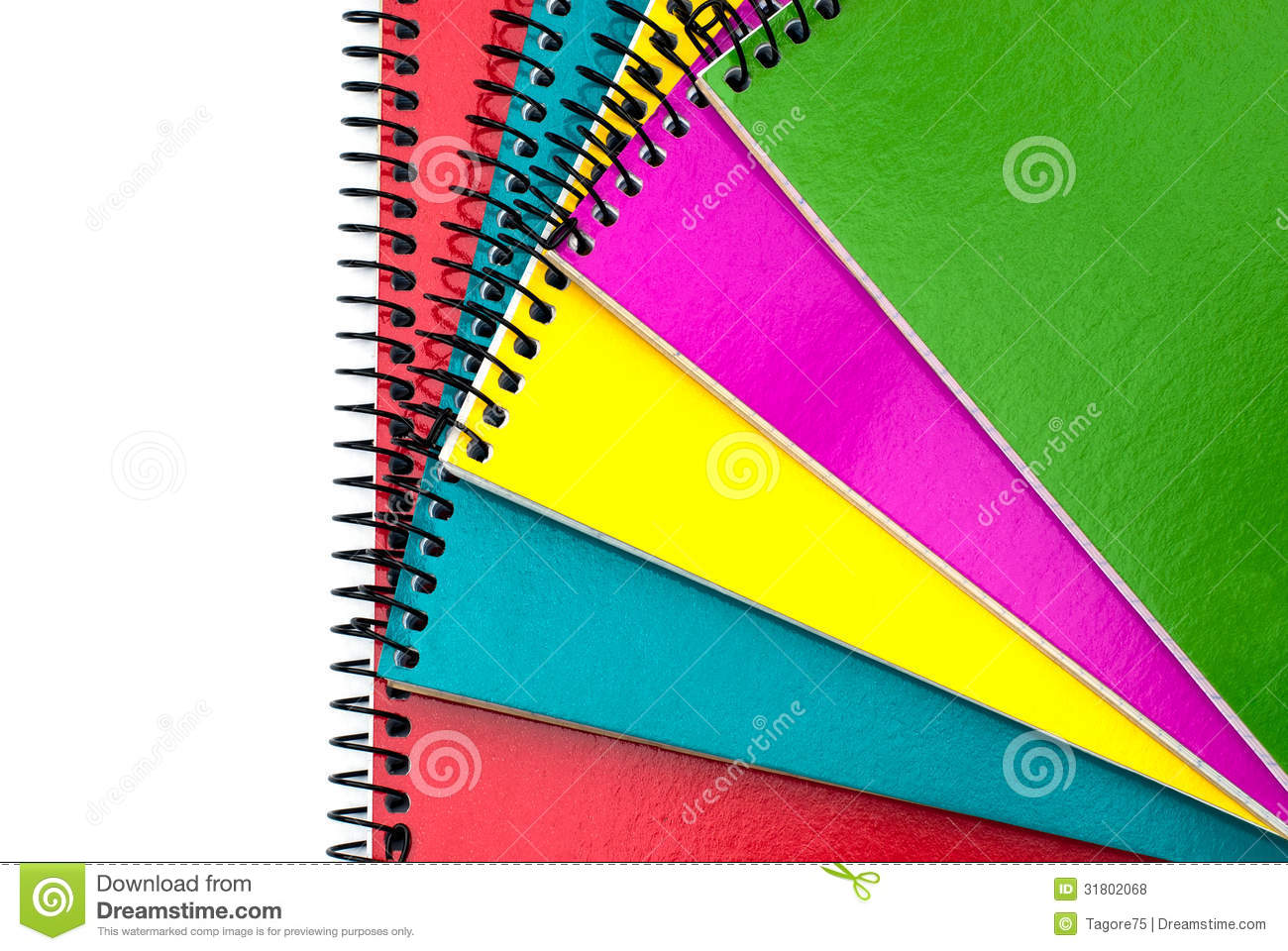 how to fix spiral notebooks