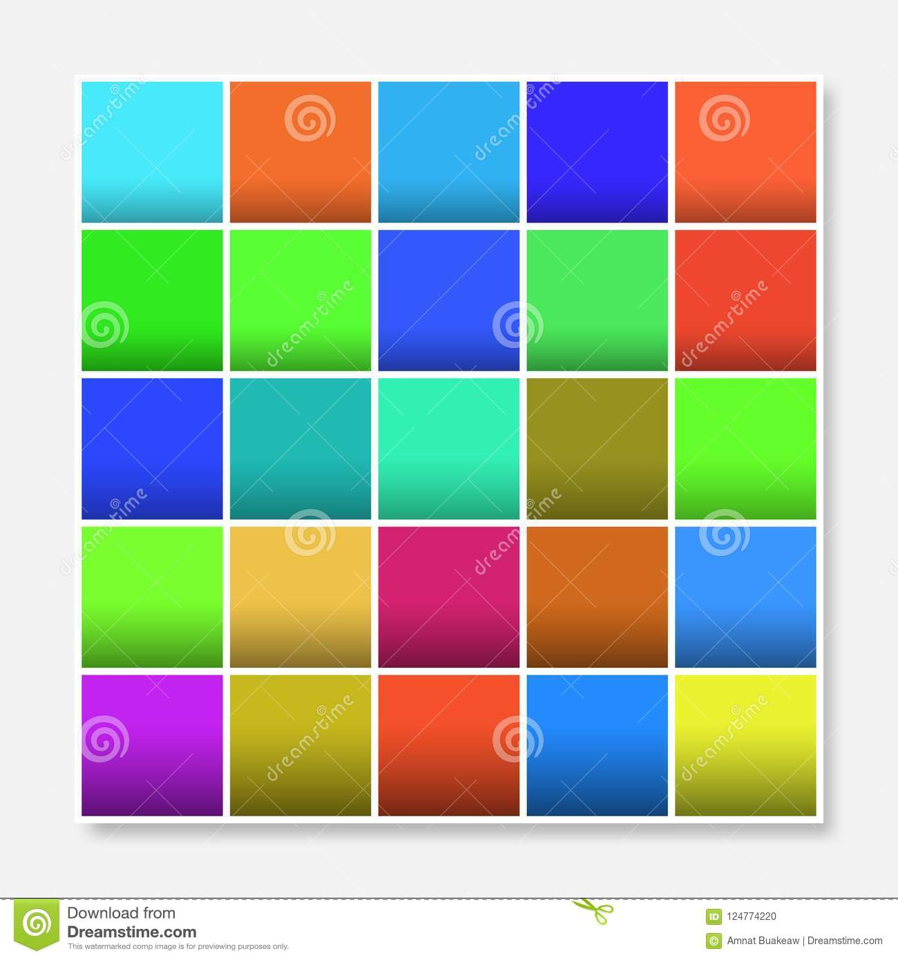 Colorful Squares Background Frame Block Soft Pastel Bright