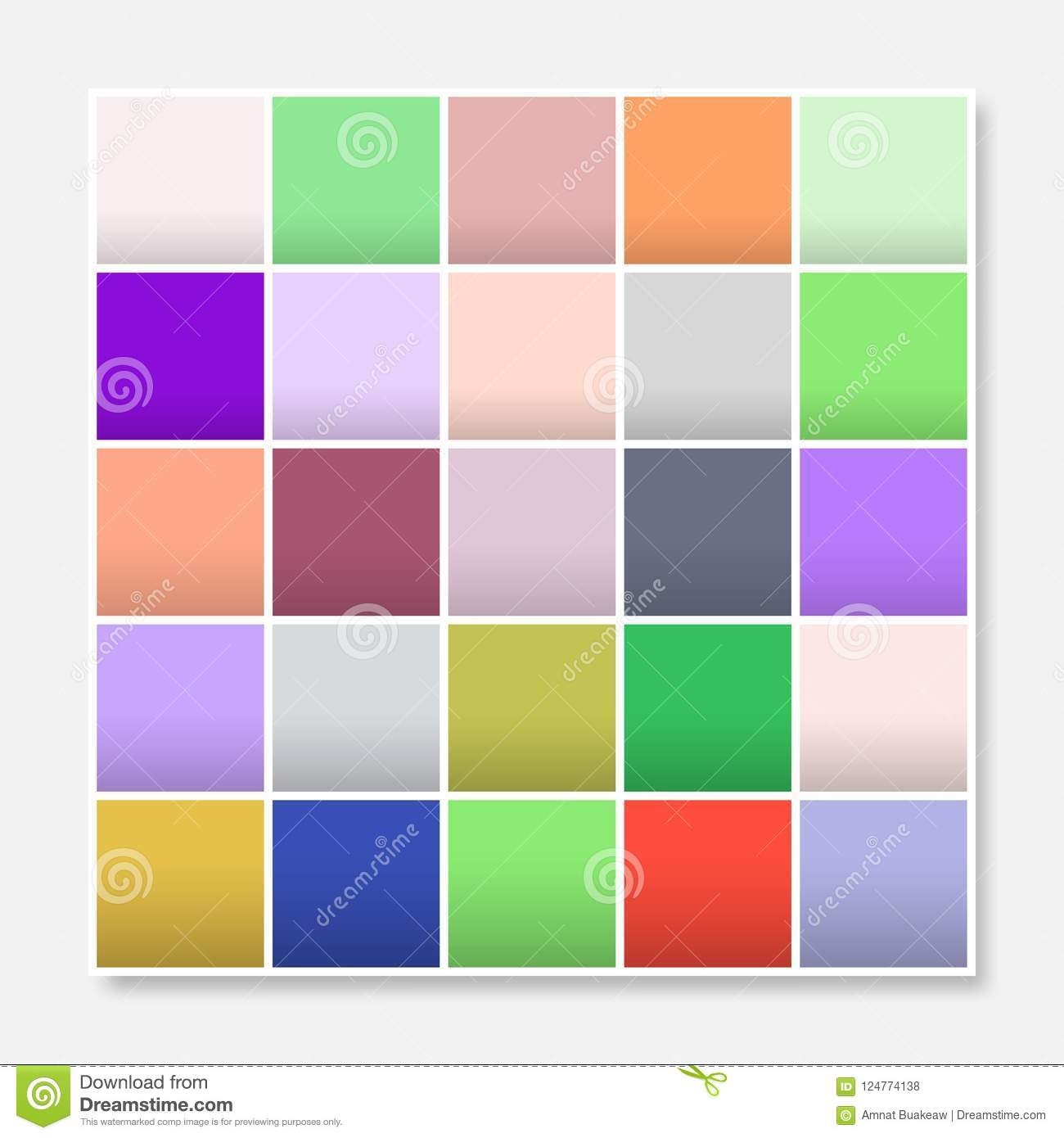 Colorful Squares Background Frame Block Soft Pastel Rainbow