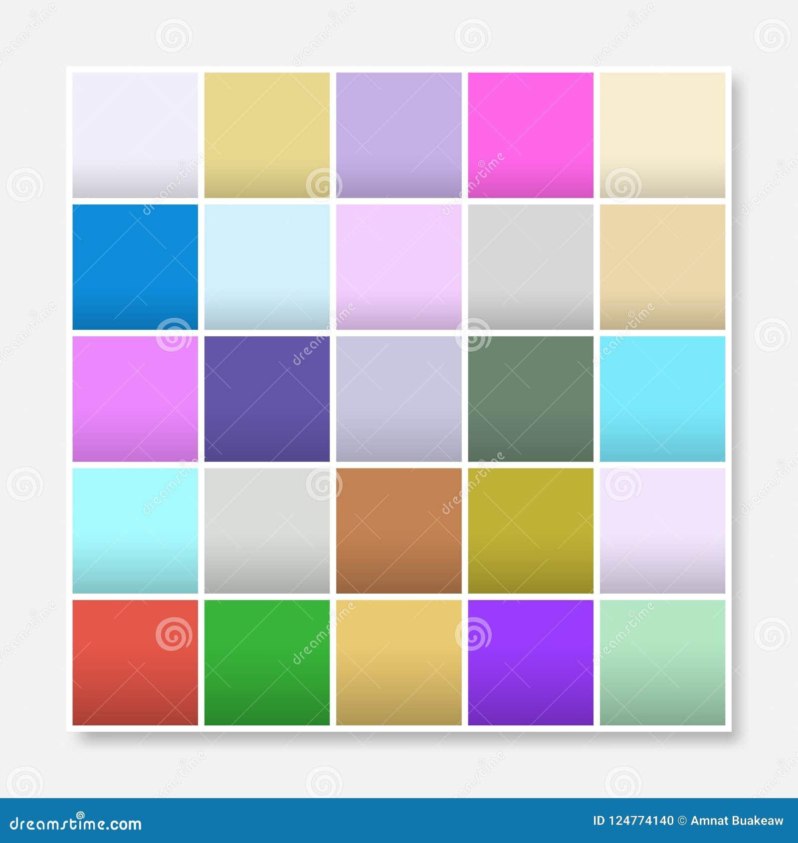 Colorful Squares Background Frame Block Soft Pastel Rainbow