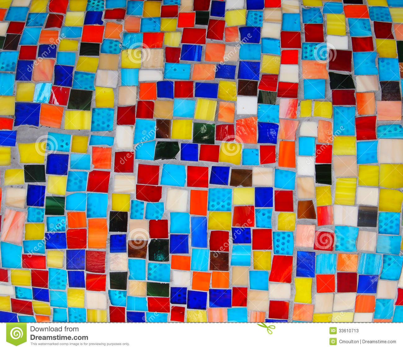 Colorful squares mosaic tiles stock image image of for El mural de mosaicos