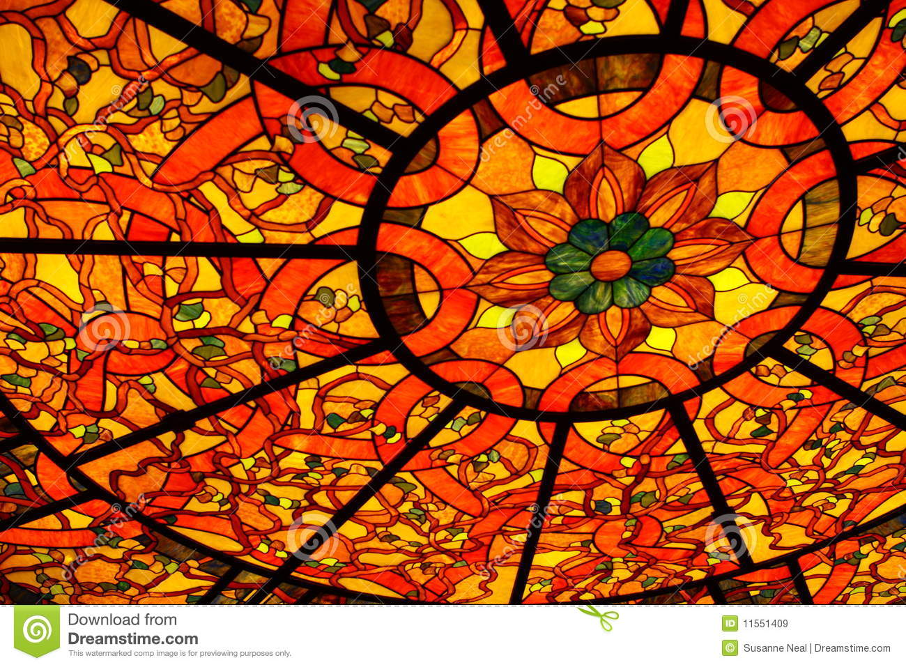 How To Craft Yellow Stained Glass