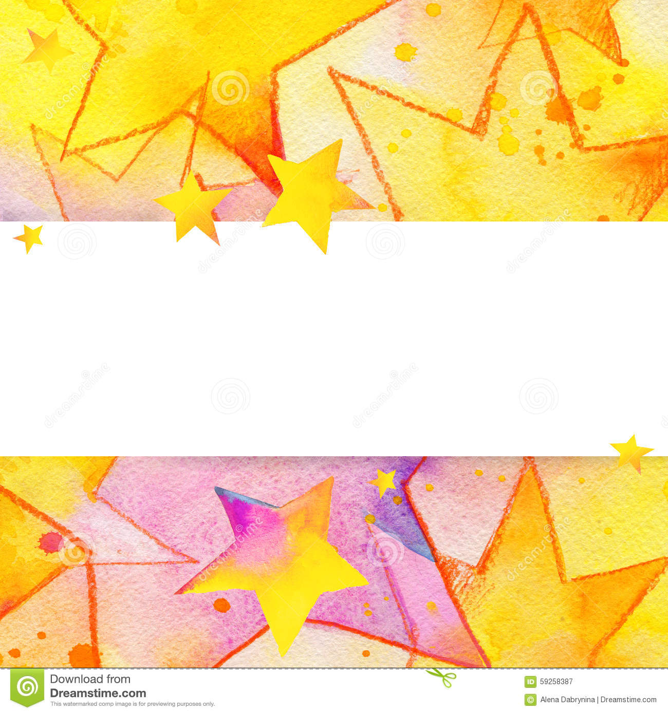 Photo Collection Colorful Star Background Illustration