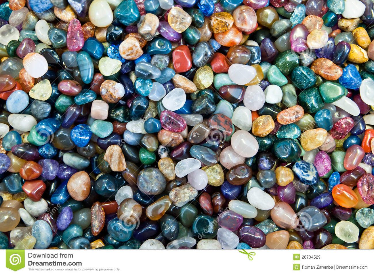 Colorful Stones stock image. Image of wallpaper, texture