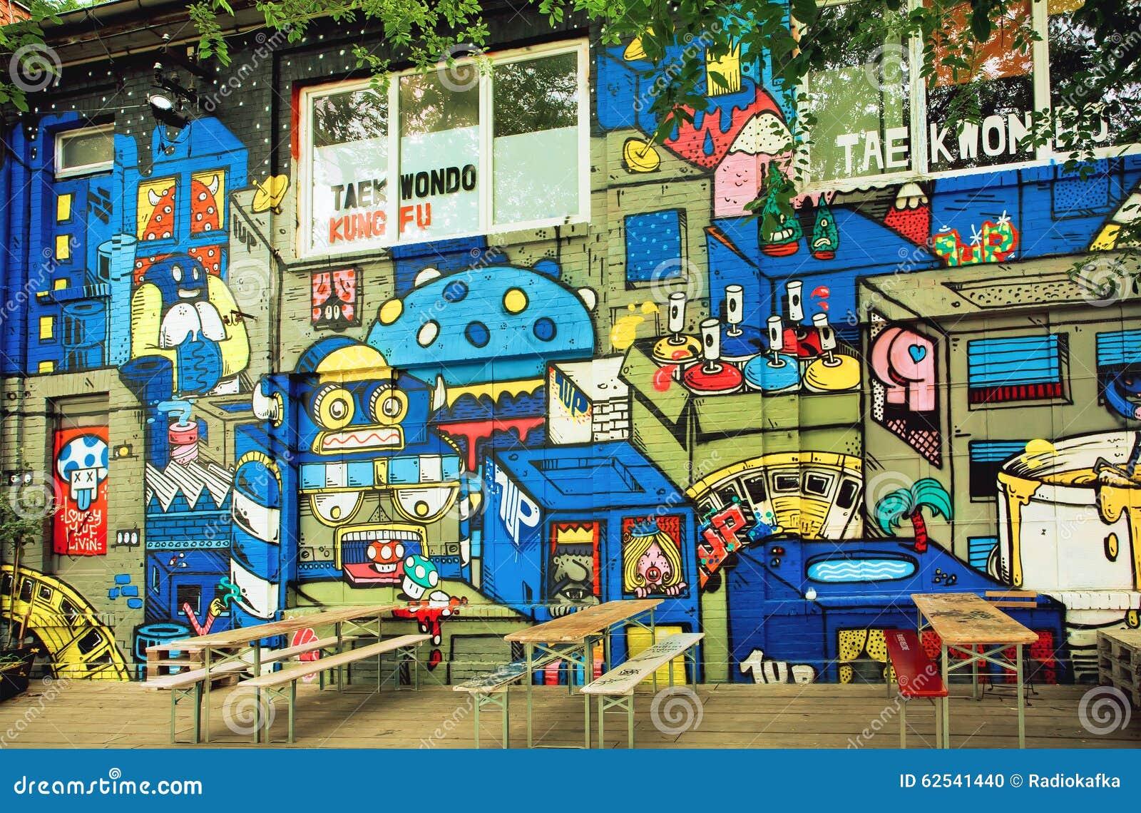 Wall Street Berlin Cafe