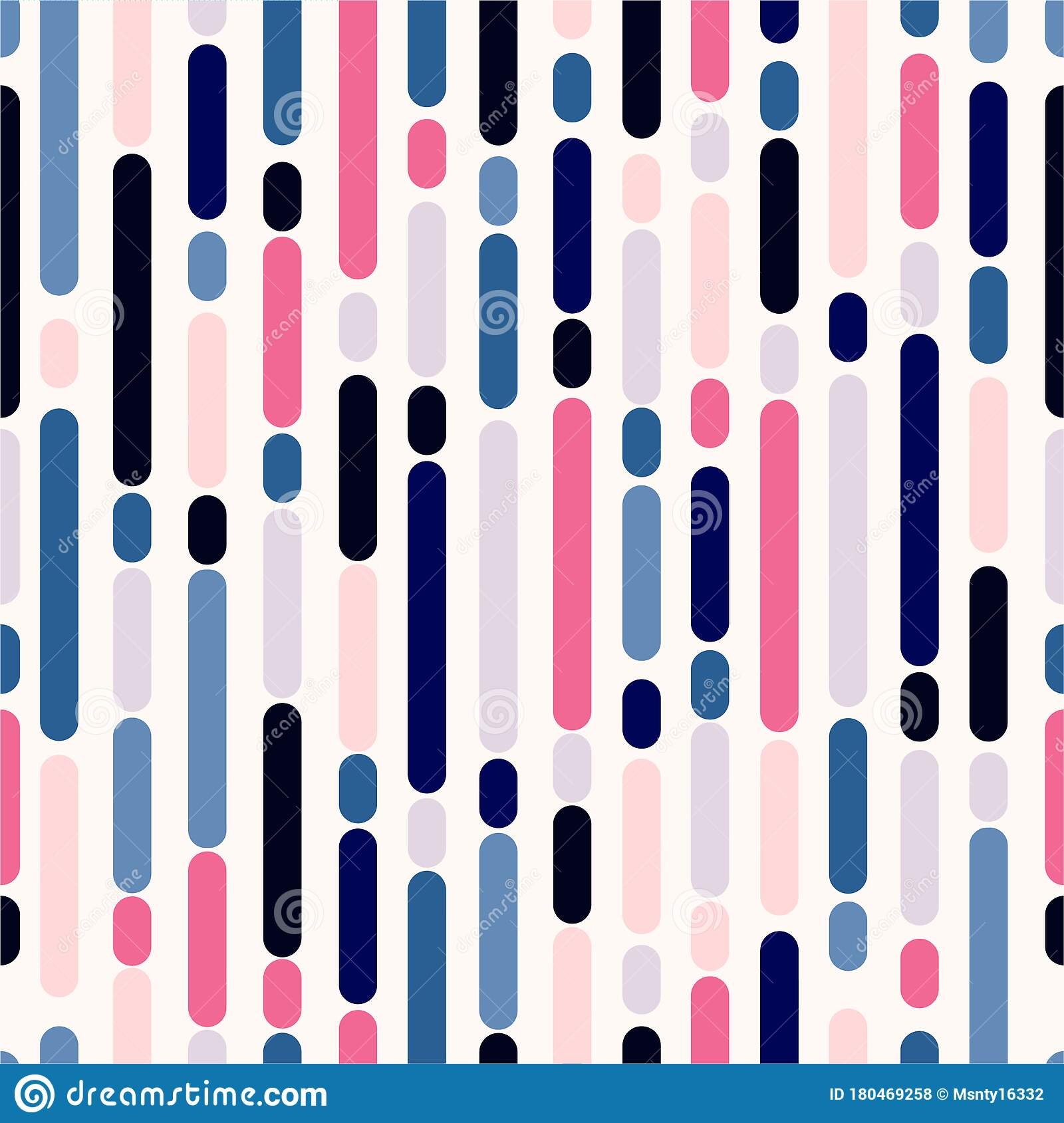 Colorful Sweet Mood Rounded Lines Vertical Striped Seamless Vector Eps10 Design For Fashion Fabric Web Wrapping And All Print Stock Vector Illustration Of Fabric Decor 180469258