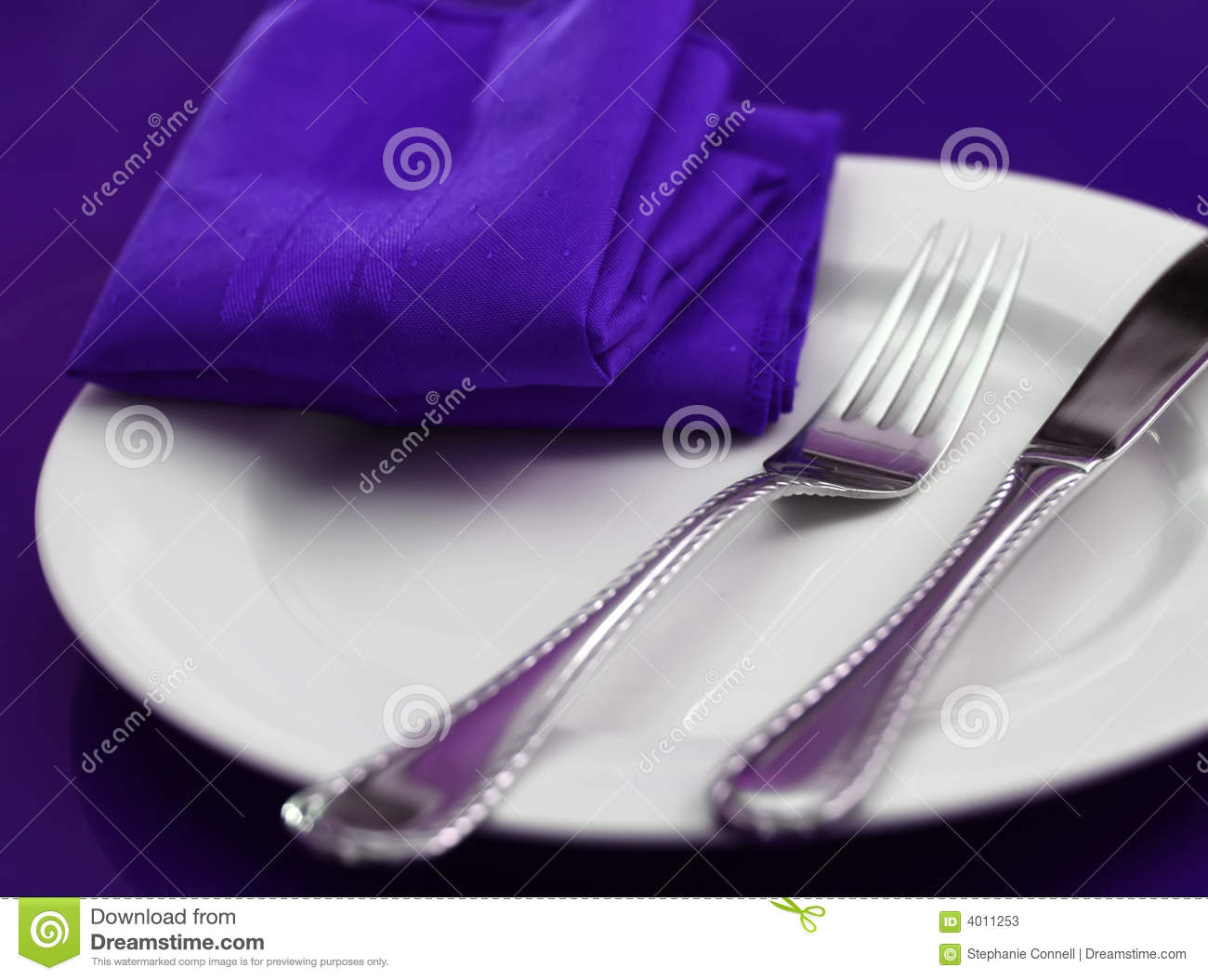 Colorful Table Setting Stock Photos Image 4011253