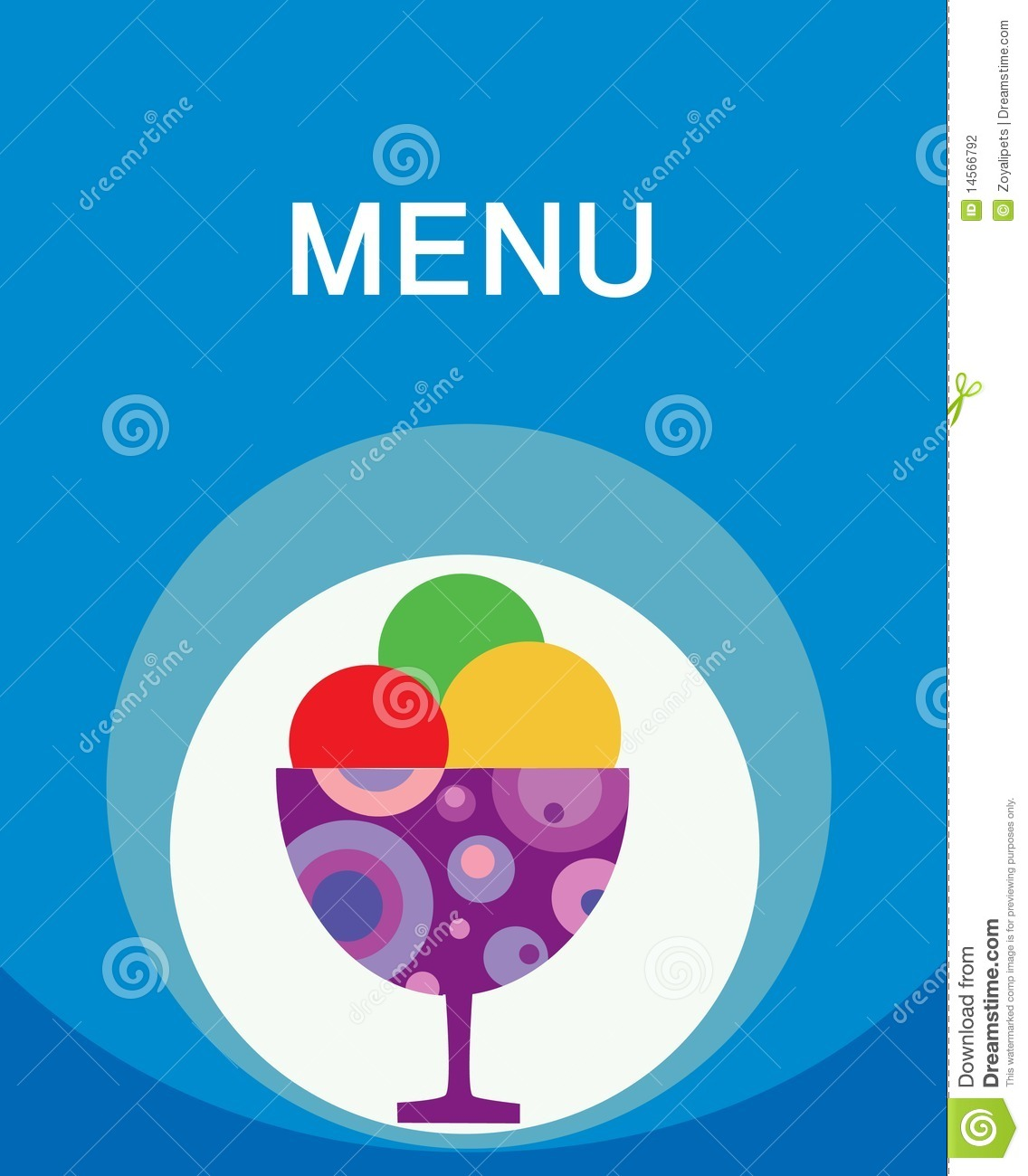 More similar stock images of colorful tasty ice cream menu template