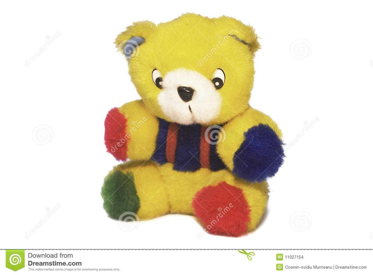 Colorful Teddy Bear Stock Images - Image: 11027154 - photo#5
