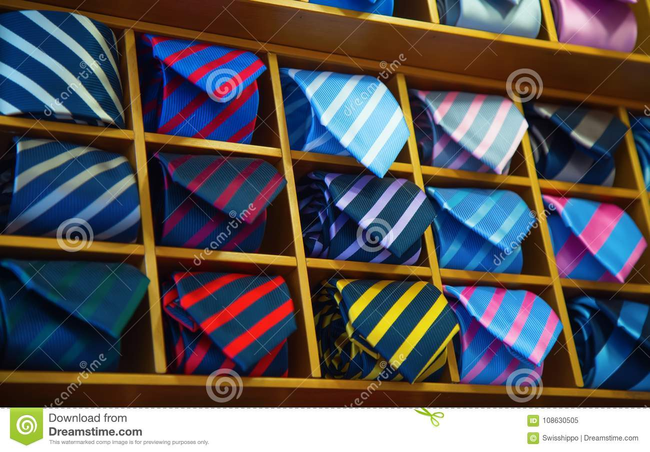 bf2224603dff Tie collection stock image. Image of mens, fashion, business - 108630505