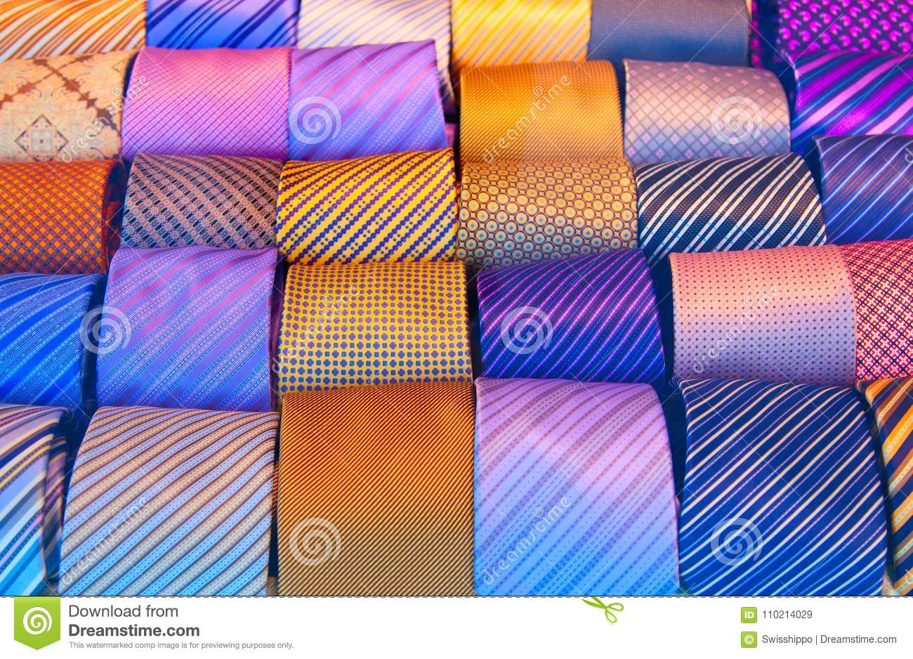 d6b64c139ff6 Tie collection stock image. Image of cloth, design, fashionable ...