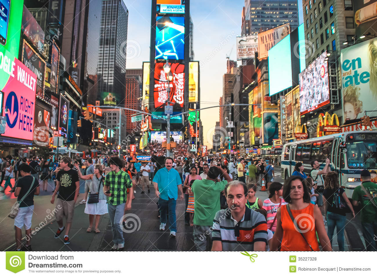Colorful times square new york editorial stock photo for What to do around times square