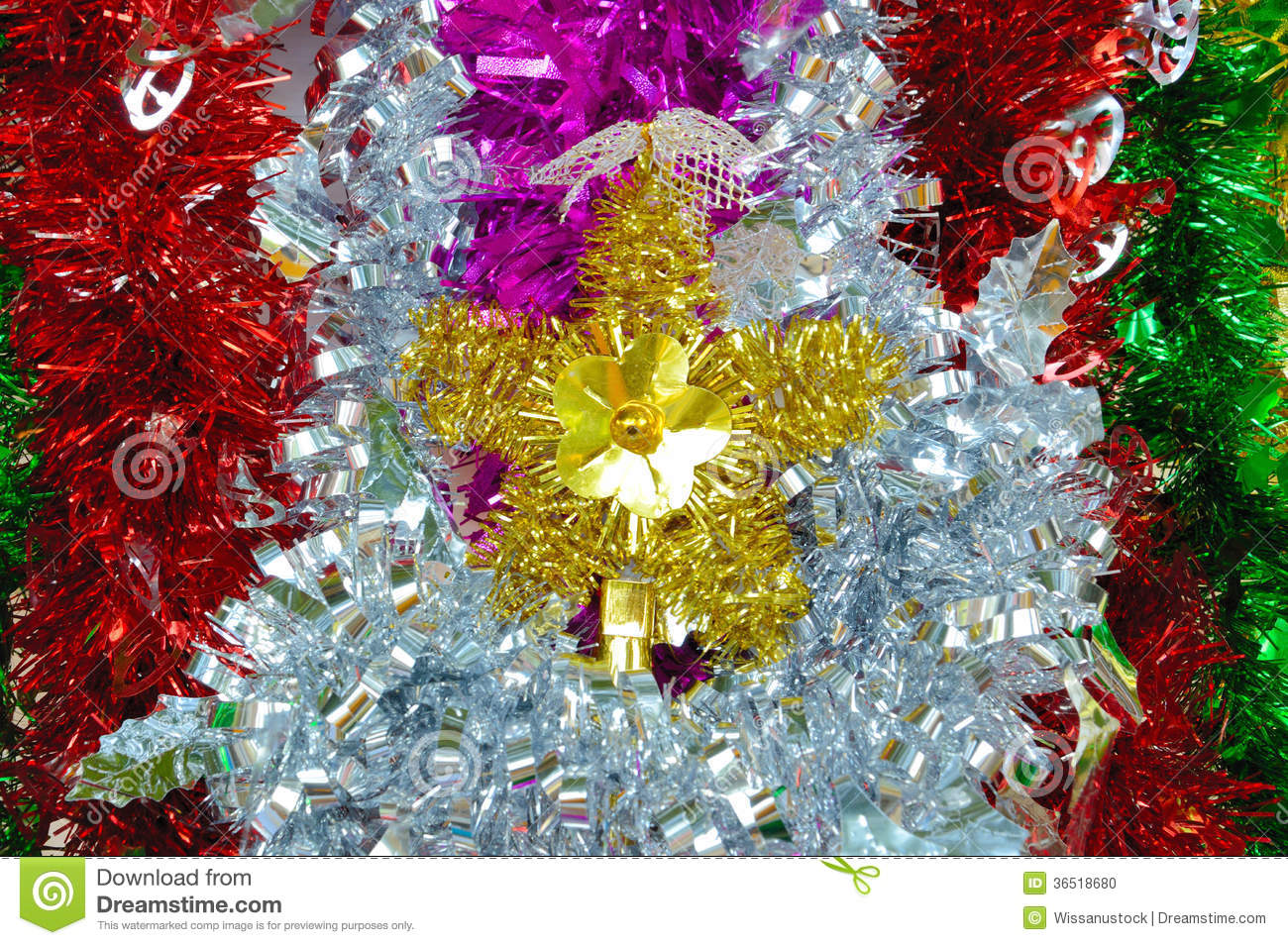 colorful new year decoration - photo #7