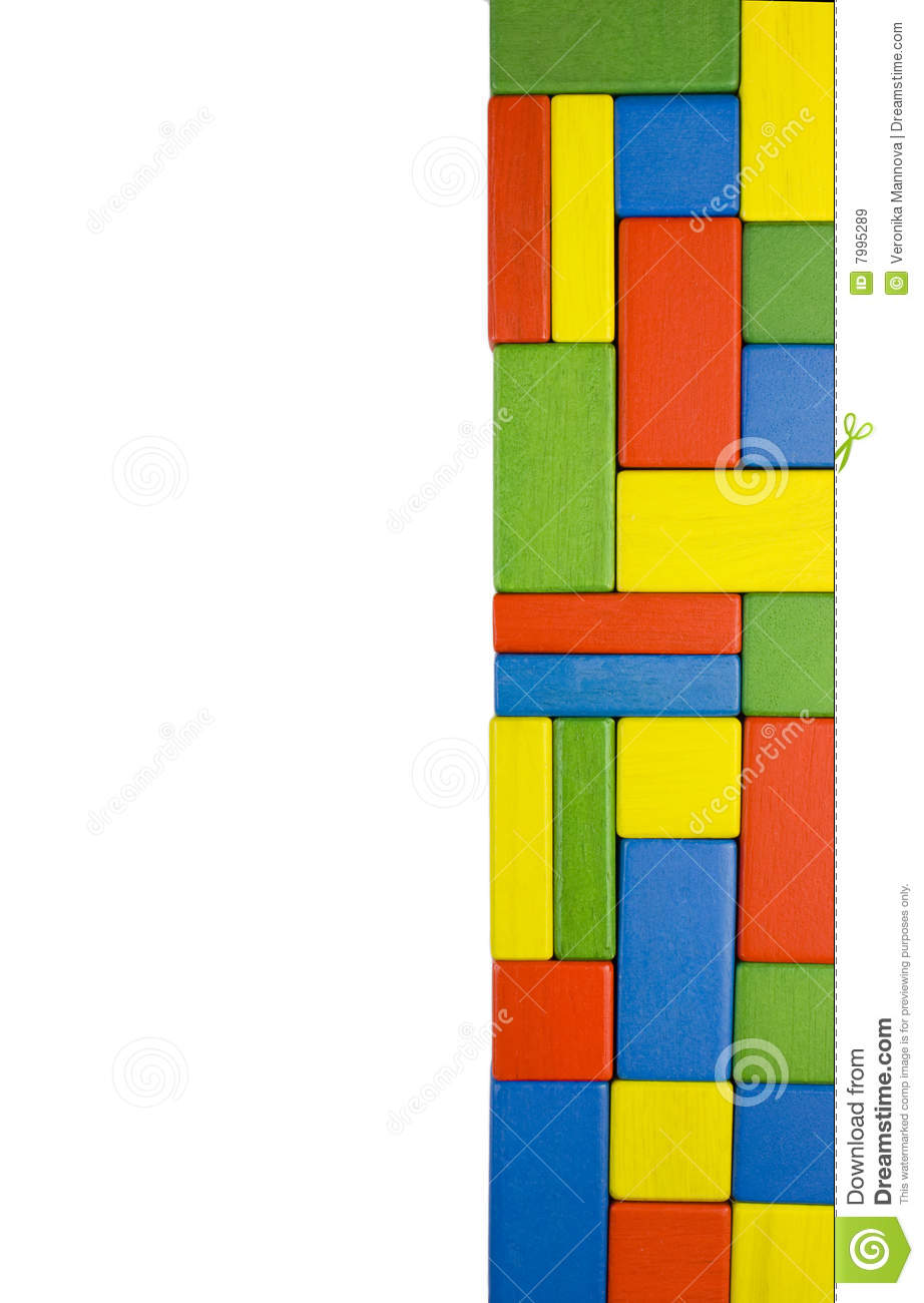 Colorful toy blocks