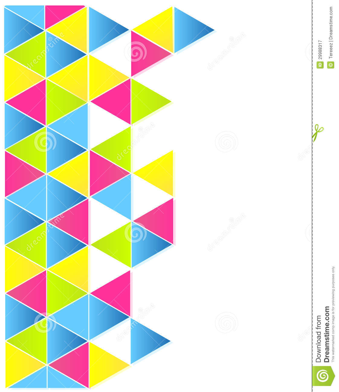 triangle colorful triangles art - photo #28