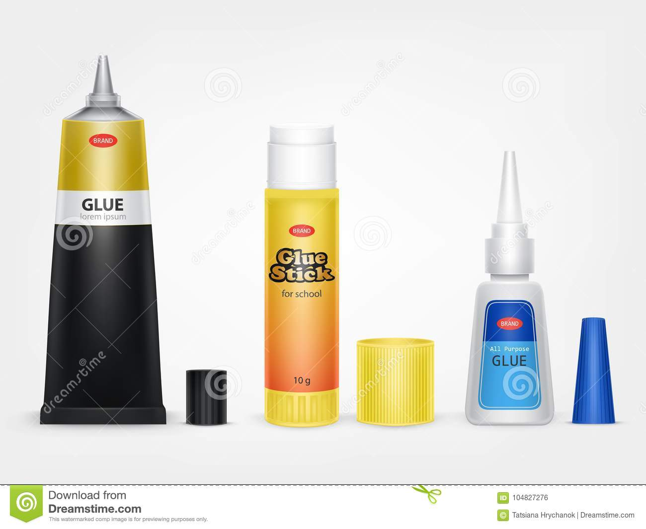 How to glue the glue moment 44